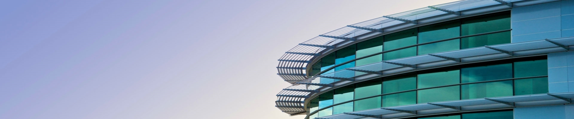 A glass facade is protected by a high-quality nano- coating